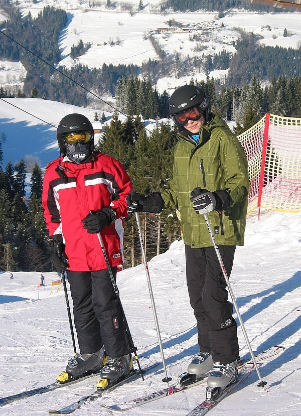 kommende SkiStars werfen Ihre Schatten voraus