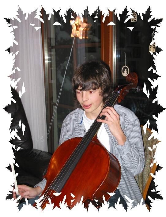 Luca beim Weihnachtskonzert 2011