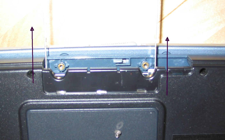 Lifebook C1020 Festplattentausch